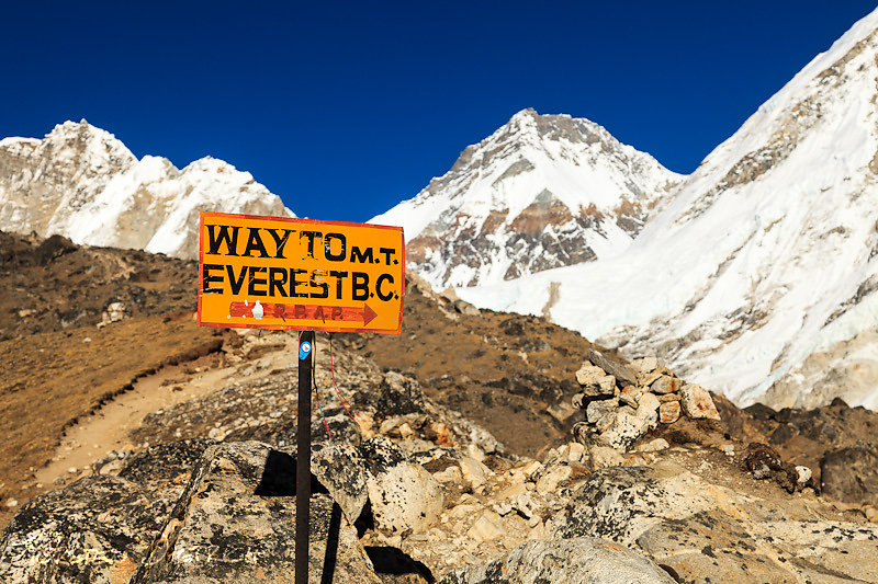 Way to Mt. Everest Base Camp
